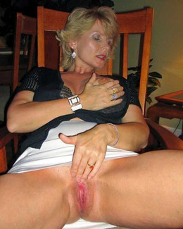 Amateur mature wives without panties