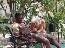 Black stud fucks my wife in the..
