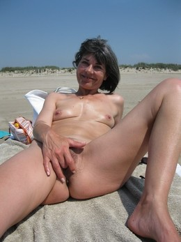 My nudist wife on the clariss beach