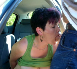 Car porn pictures with horny mature..